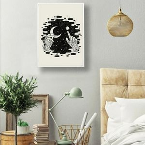 Wall Fabric Art Print